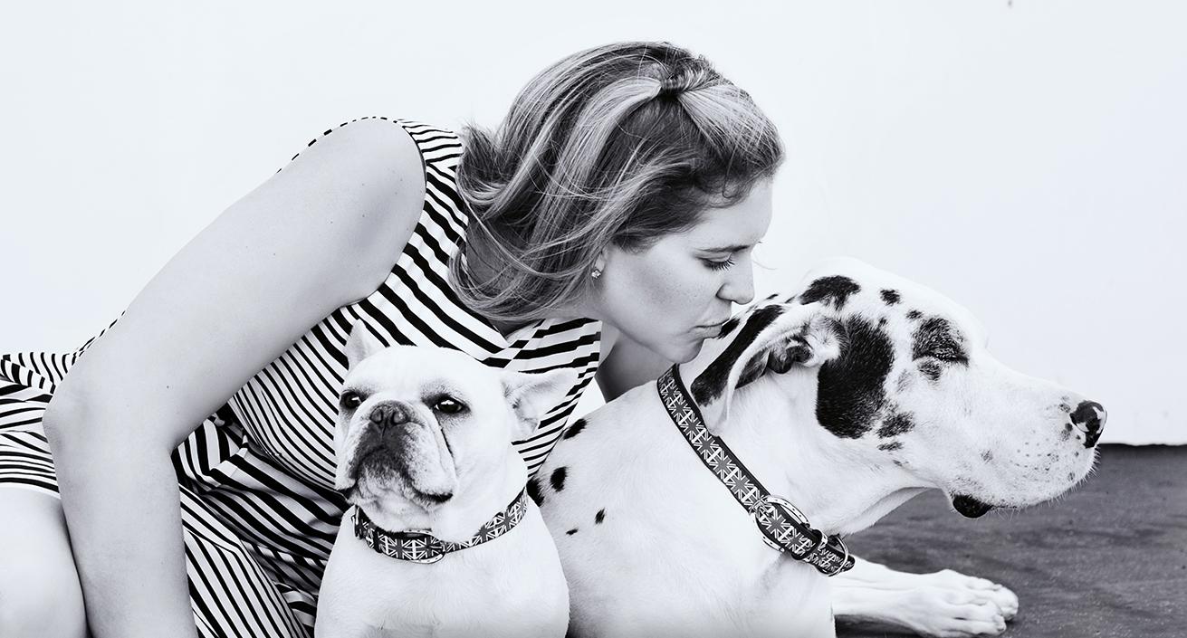 J.Nichole Smith with dog Charlie & Olivia (2004-2015)