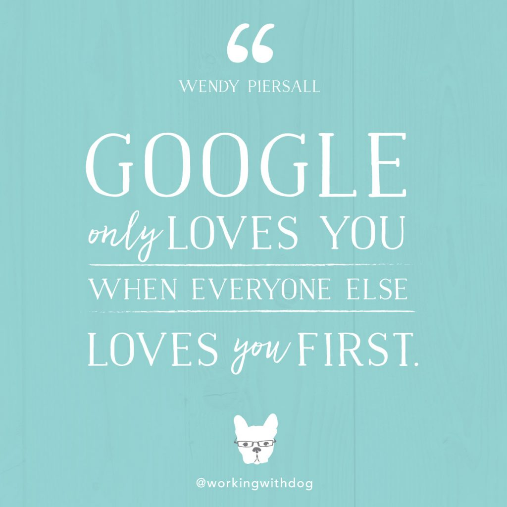 Google quote Wendy Piersall