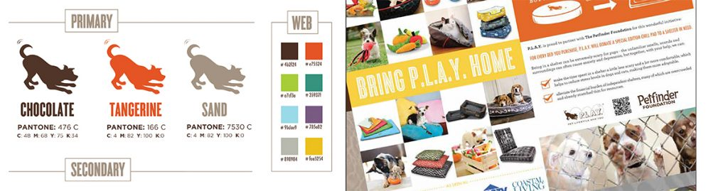 PLAY brand colors