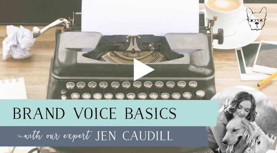 Brand Voice Basics