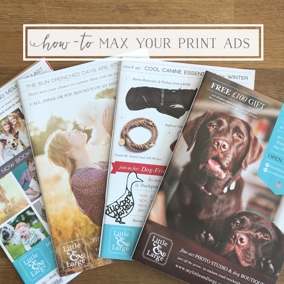 Get the Most out of Print Ads
