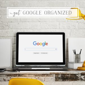 Get Your Google Apps Organized