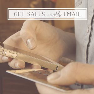 Push Holiday sales with email