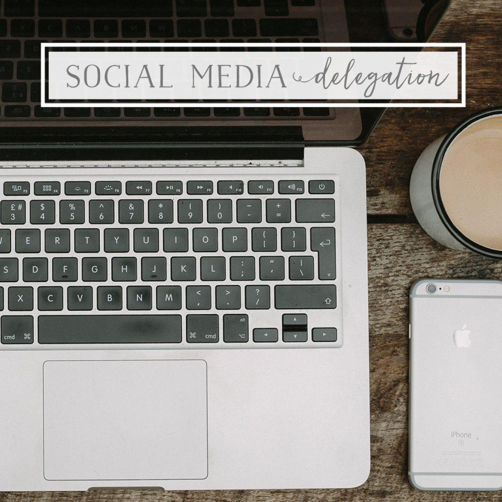Social Media Delegation