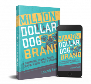 Million Dollar Dog Brand paperback and ebook