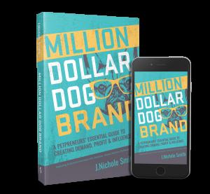 Million Dollar Dog Brand paperback and ebook