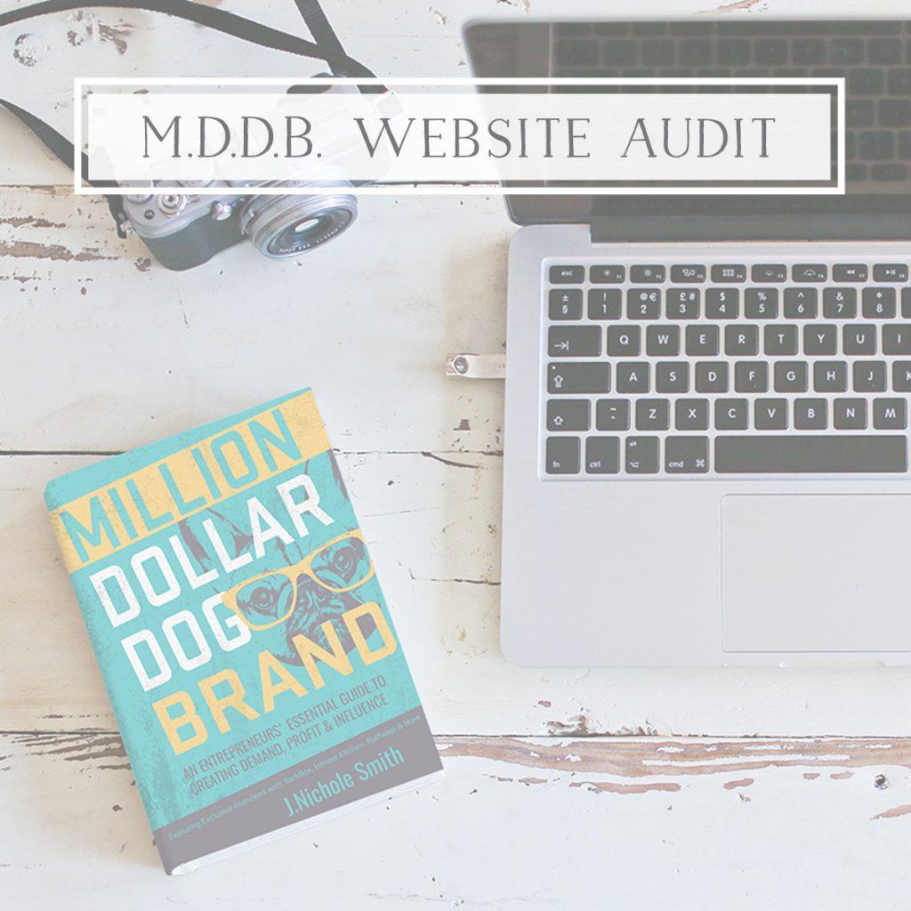 Million Dollar Dog Brand Website Audit