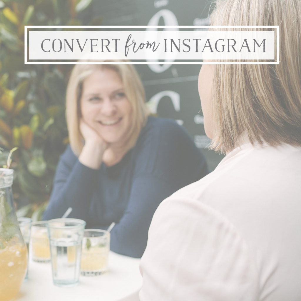 Getting Conversions from Instagram