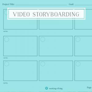 Video Storyboarding