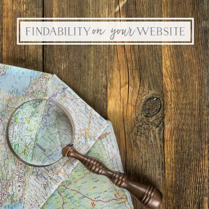 Findability on your Website