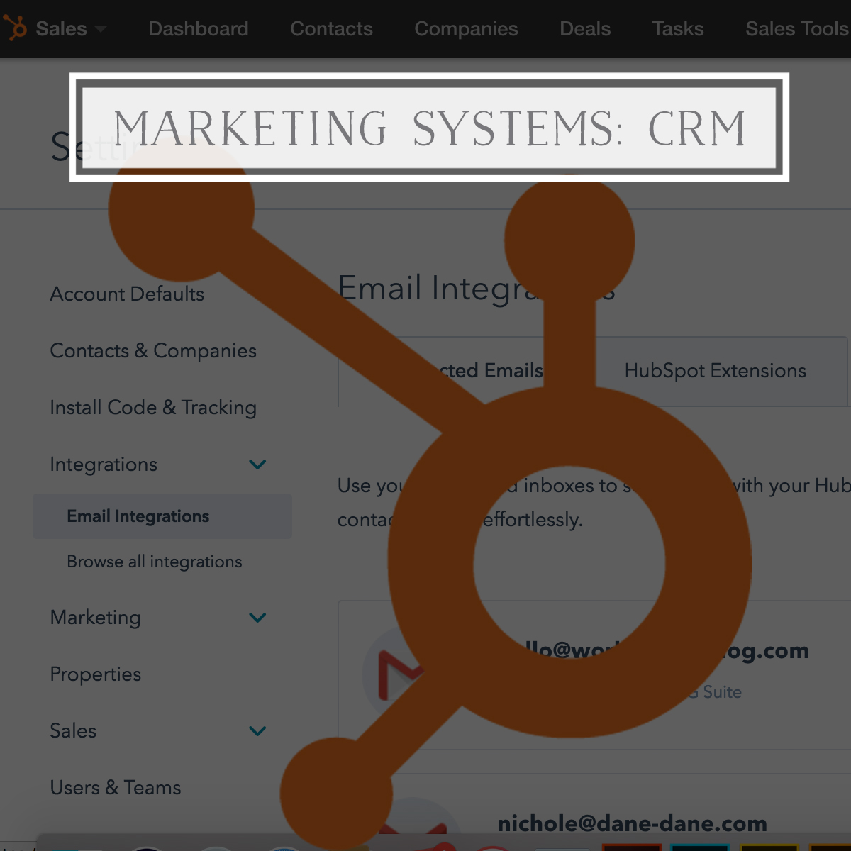Marketing Systems: CRM
