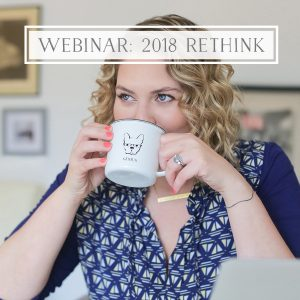 Why (and how) You May Want to Rethink Your Business in 2018